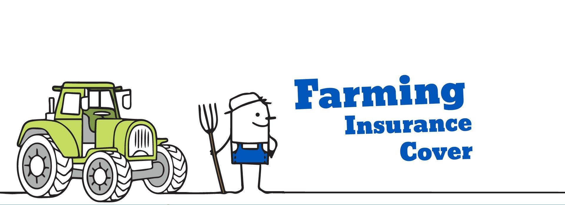 Farming insurance cover graphic