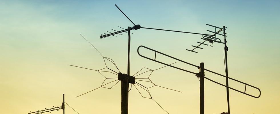 antenne radio televisive
