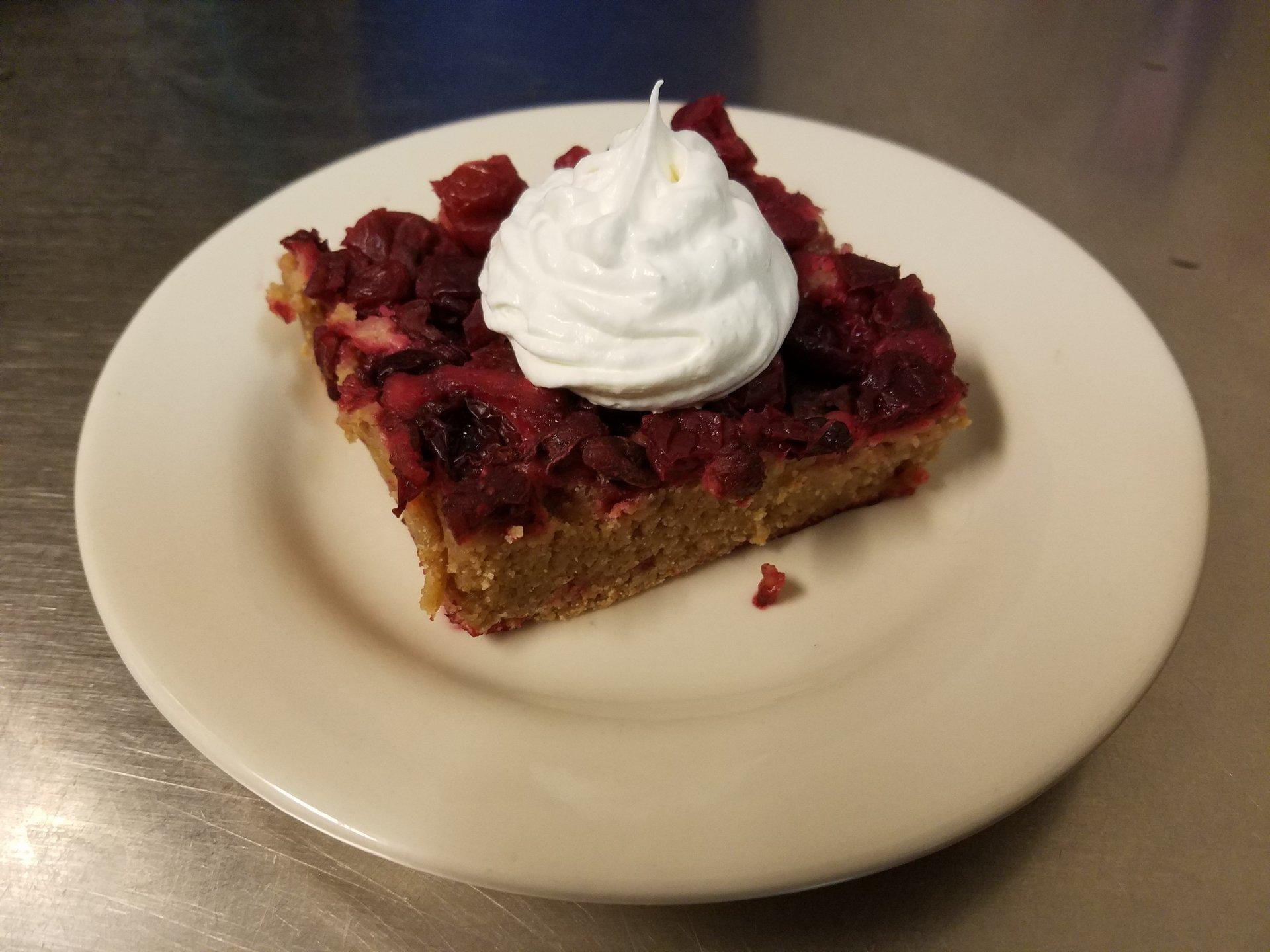 Farm inn on main dessert special-shawano wisconsin