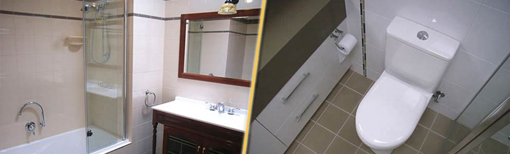 Bathroom transformed by our bathroom renovators in Geelong