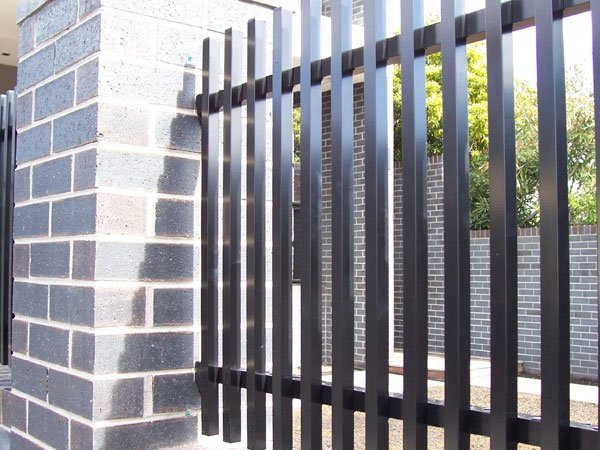 Black color fencing