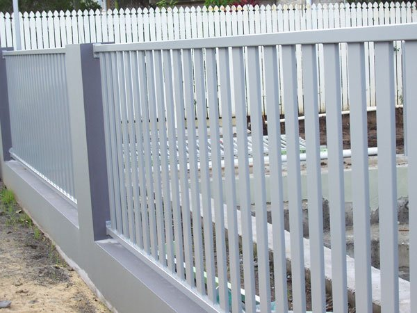 White color fencing