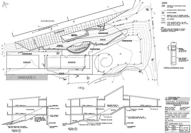 lindsay tapp contract drafting pty ltd bulk earthworks plan