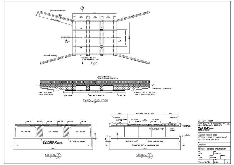 lindsay tapp contract drafting pty ltd culvert plan
