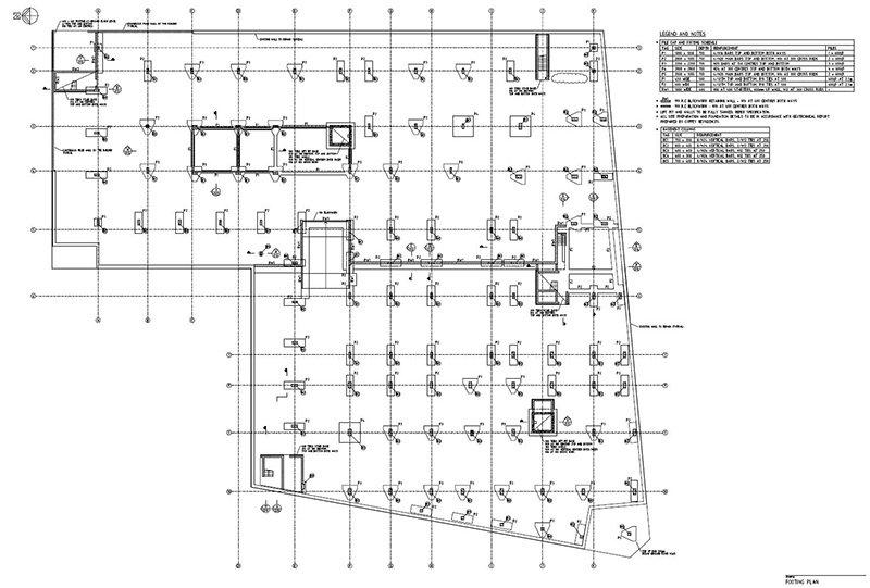 lindsay tapp contract drafting pty ltd footing plan