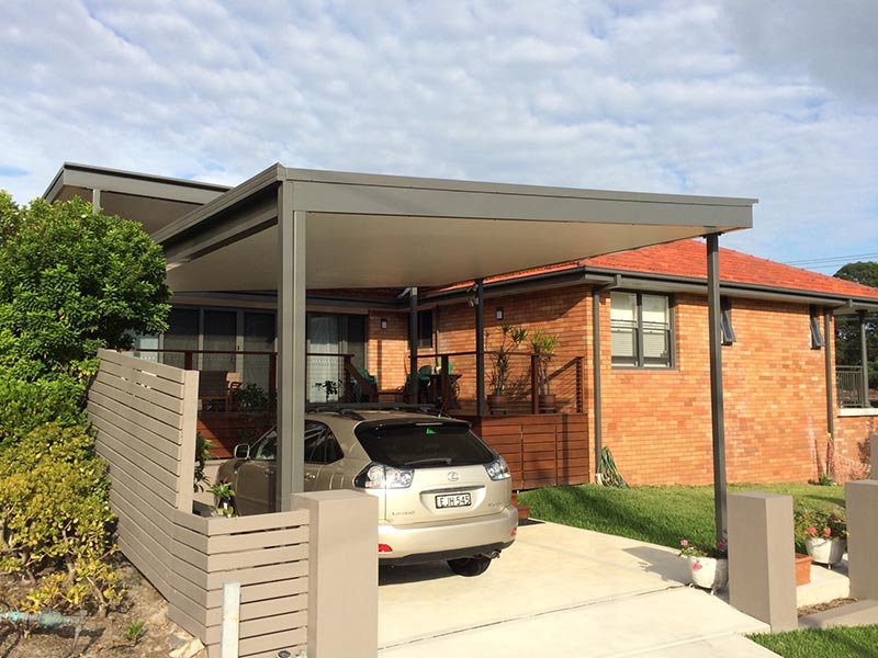 lindsay tapp contract drafting pty ltd holdem carport completed back view