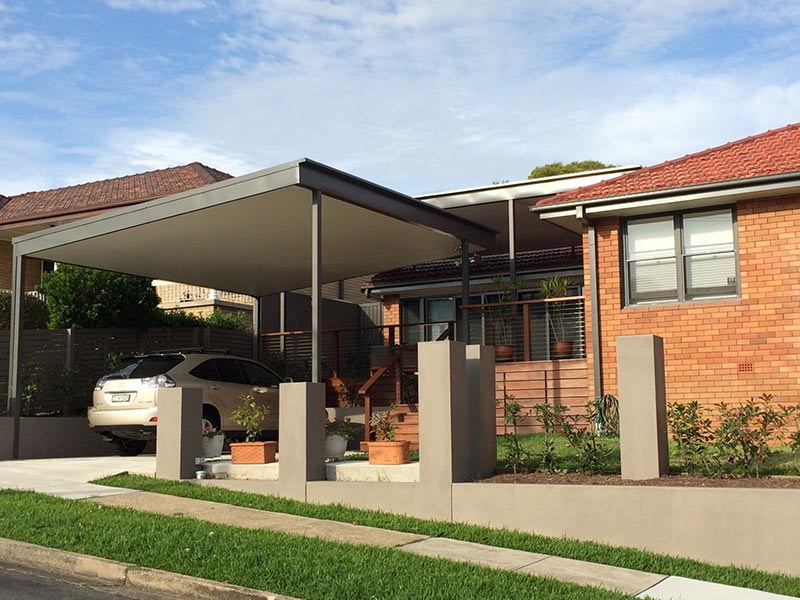 lindsay tapp contract drafting pty ltd holdem carport completed side view
