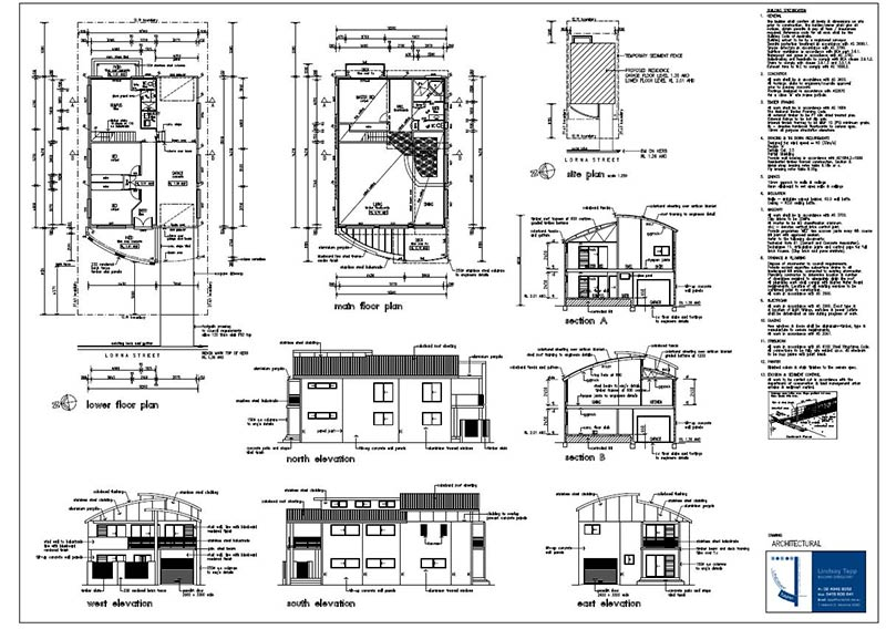 lindsay tapp contract drafting pty ltd new residence pelican plans