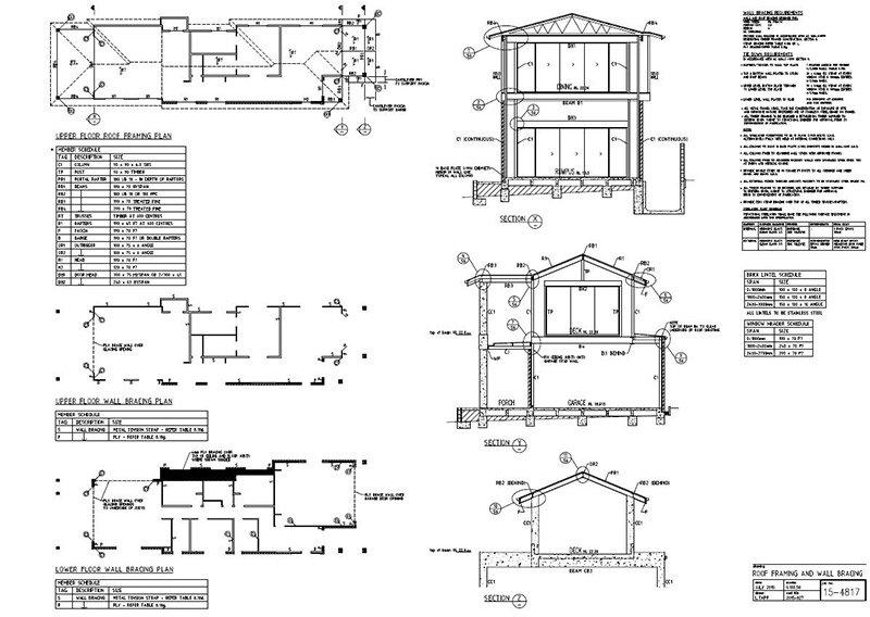 lindsay tapp contract drafting pty ltd residence upper floor plans