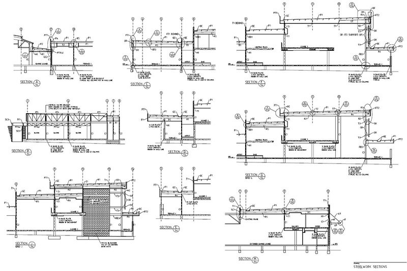 lindsay tapp contract drafting pty ltd roof steet sections