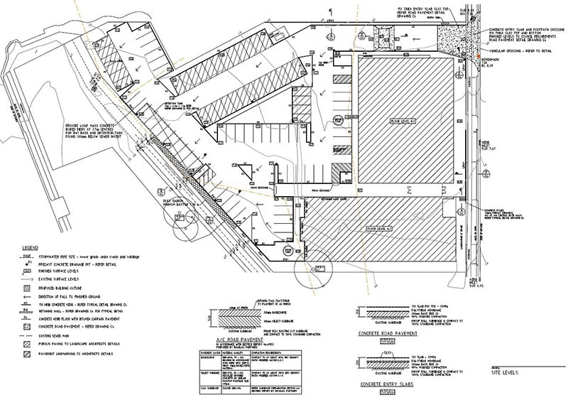 lindsay tapp contract drafting pty ltd site work plan