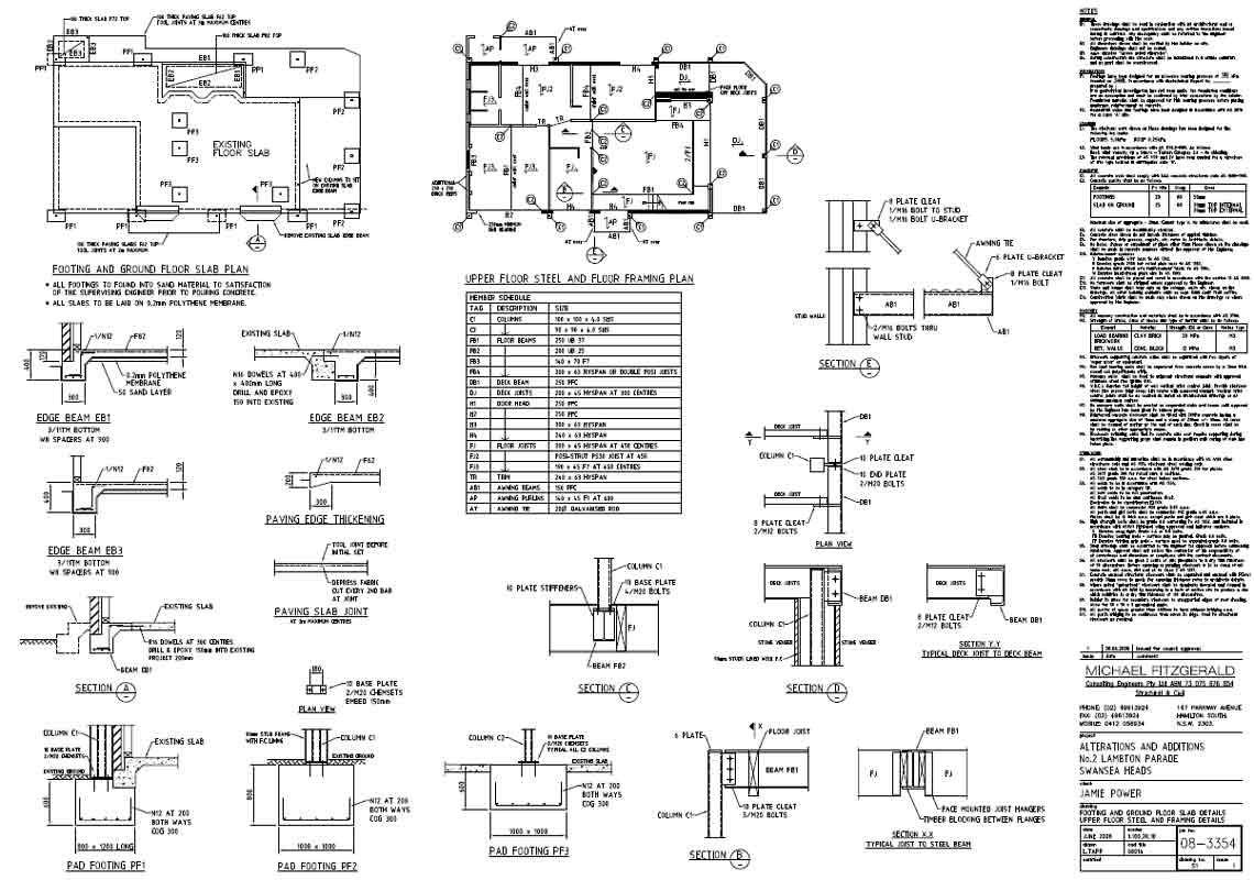 lt drafting newcastle power swansea heads second floor plan