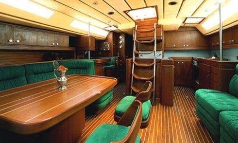 cuscineria nautica, arredo per interno nave