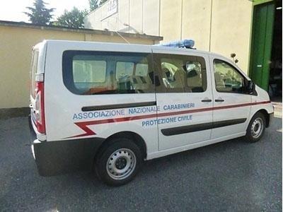 protezione civile carabinieri