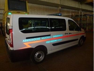 allestimenti protezione civile h