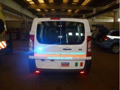 allestimenti protezione civile e