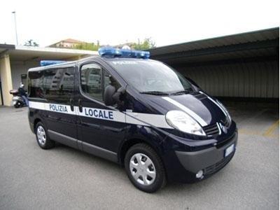 furgone polizia