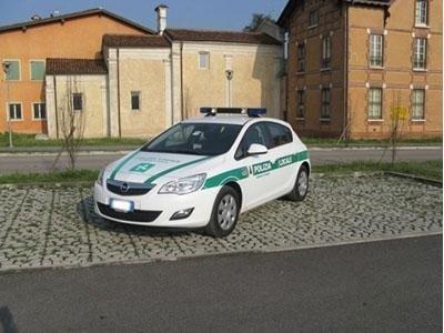 opel polizia