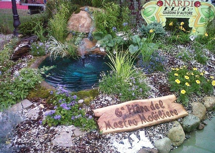 Laghetti artificiali cuneo nardi vivai for Cascata artificiale da giardino