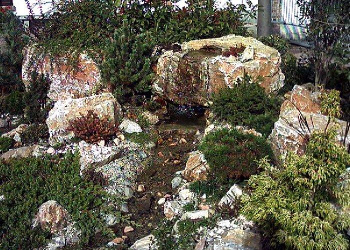 Cascate per giardini