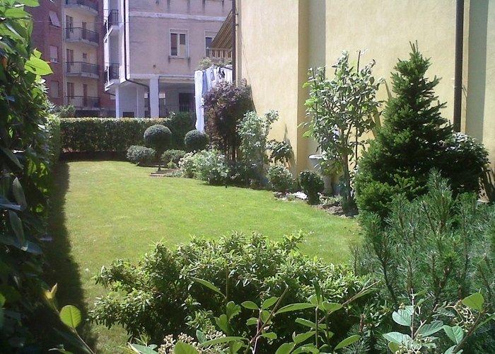 Panoramica giardino
