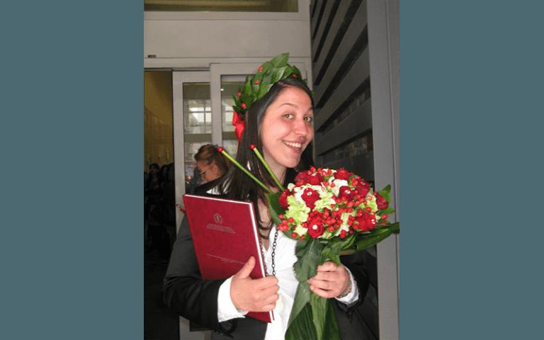 fiori di laurea