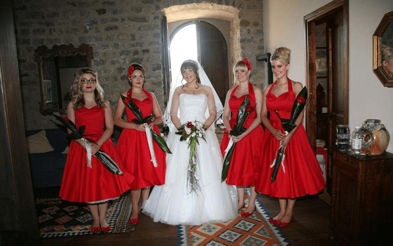 fiori e sposa