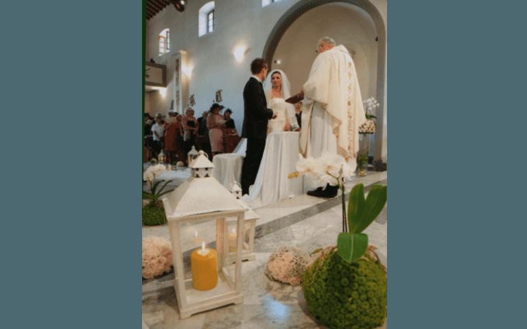 fiori al matrimonio Olli