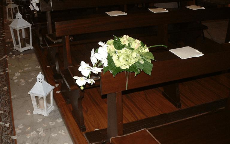 fiori su panca