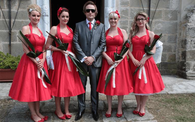 fiori e sposo