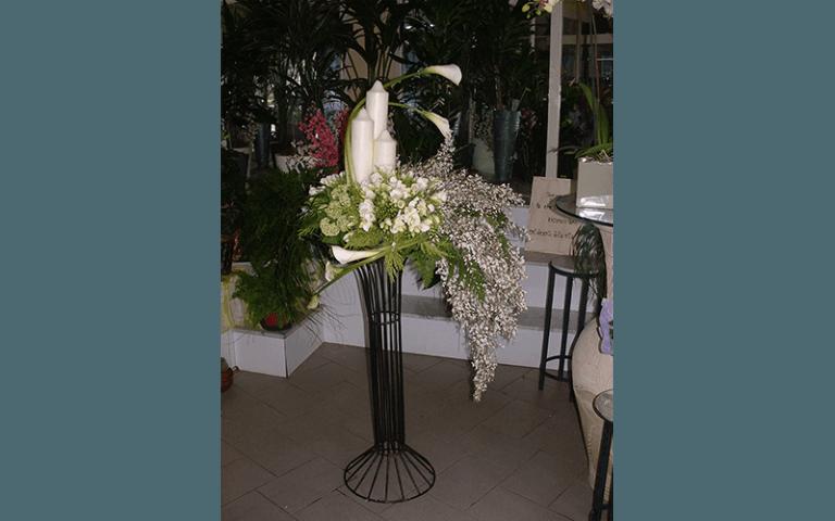 fiori e candele