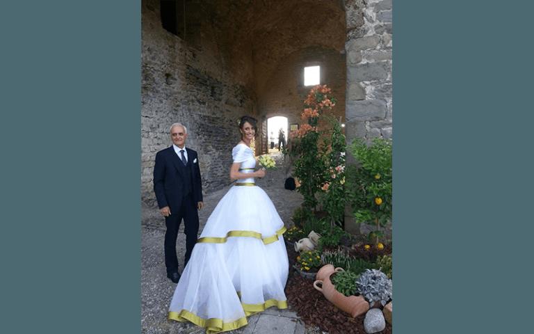 sposa al matrimonio