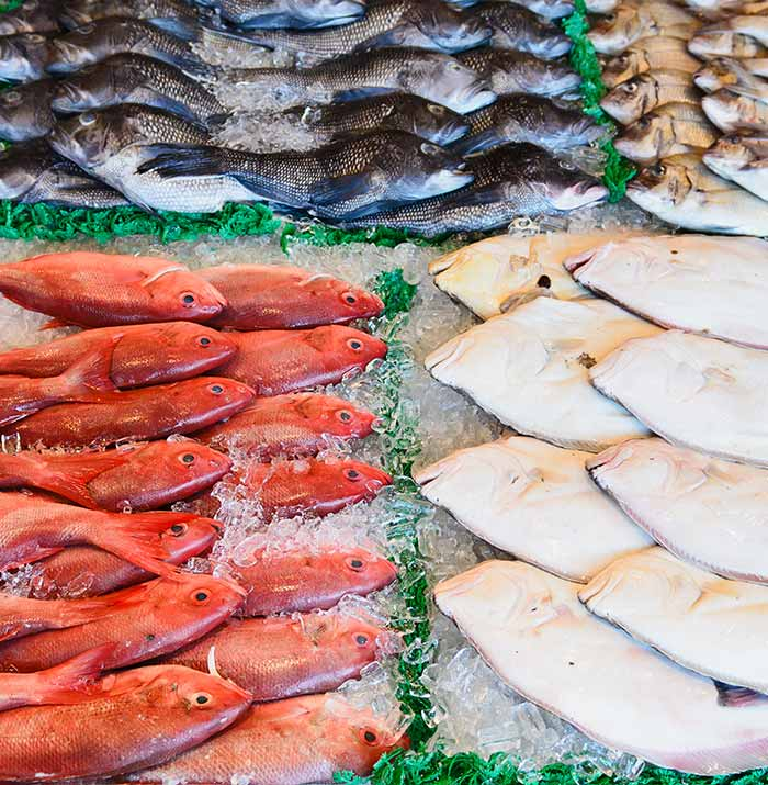 fresh fish - farmers market new jersey