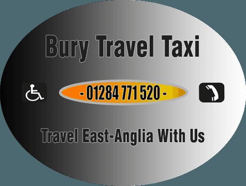 Bury Travel Taxi Company Logo