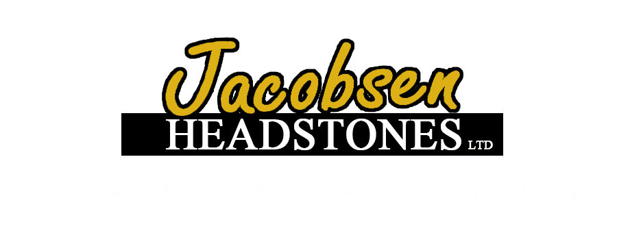 Jacobsen Headstones Logo
