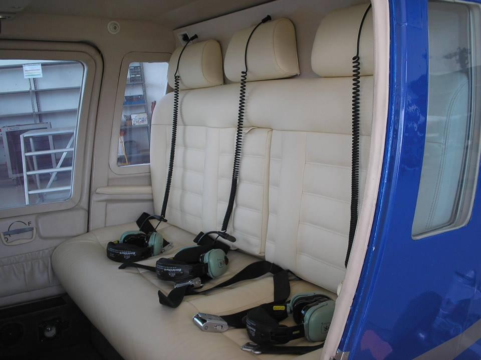 Interno elicottero
