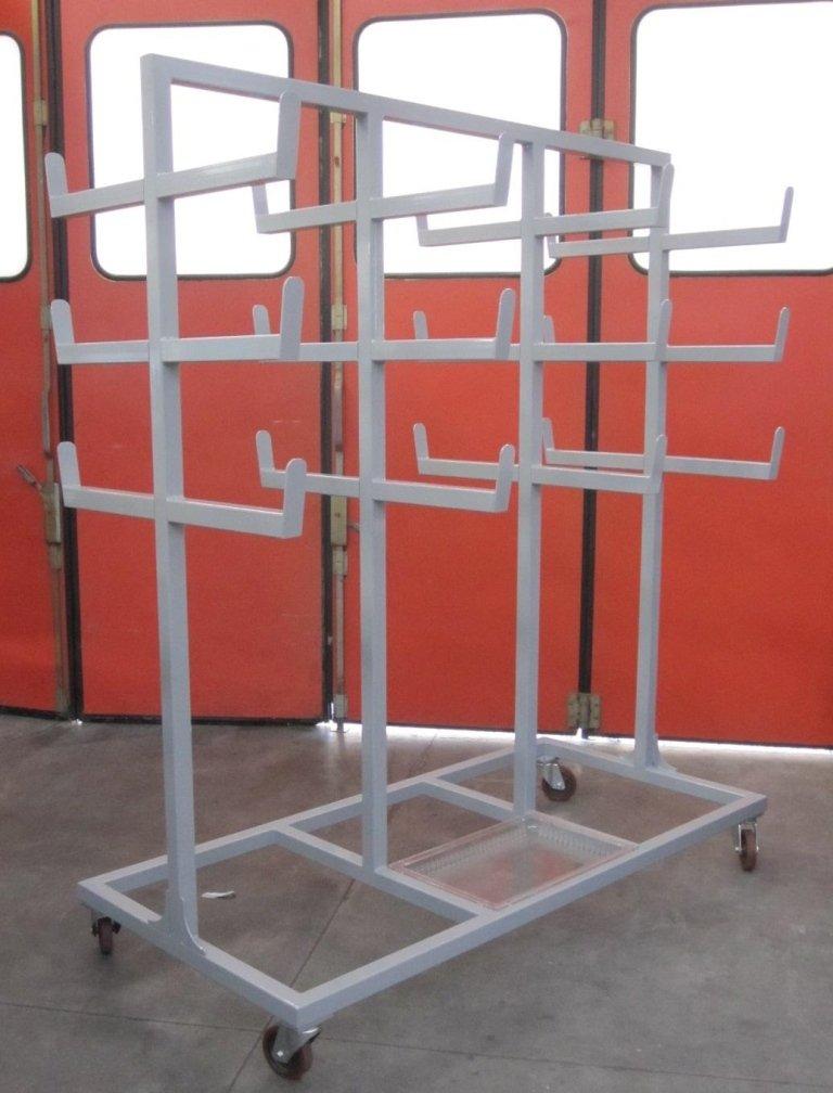 struttura in ferro porta barre