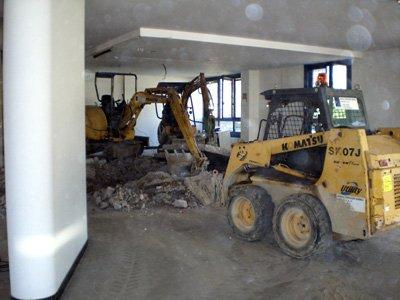 ruspe scavatrici per demolizioni