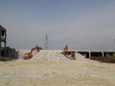 demolizioni e scav