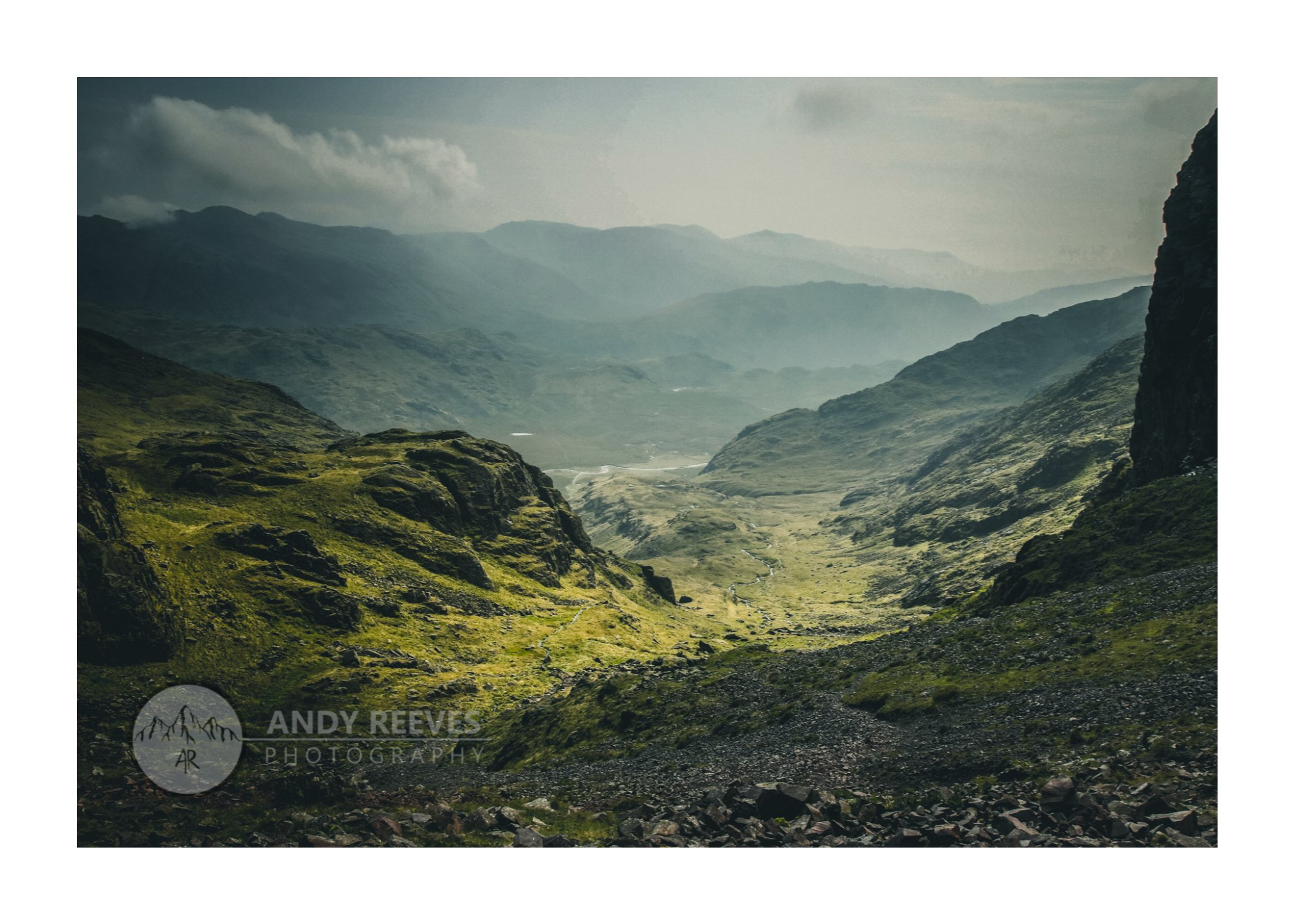 Esk River from Scafell