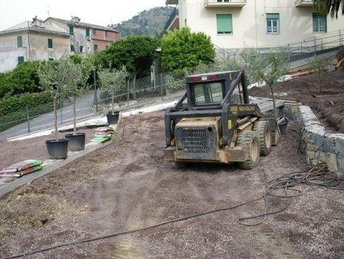 giardini a terrazzi, creazione aree verdi, giardinieri