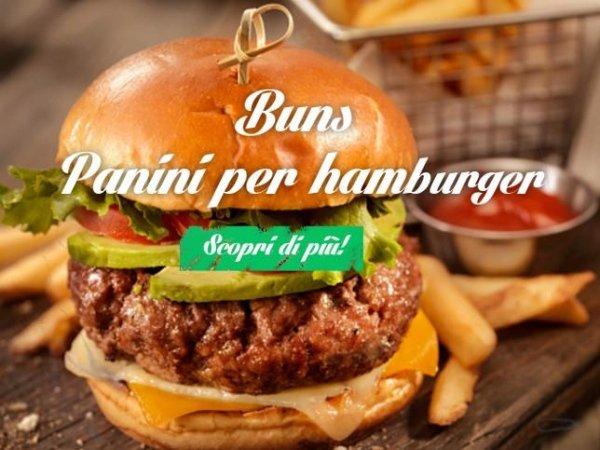 Buns artigianali per Hamburger