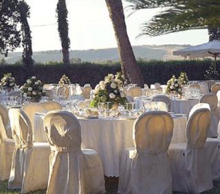 tovaglieria, posateria, tavoli/sedie