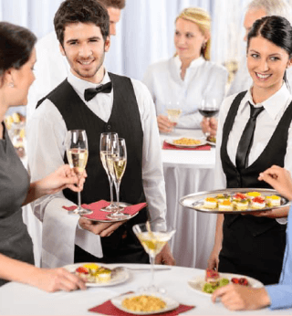 Catering completo con personale