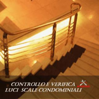 Controllo e verifica luci scale condominiali