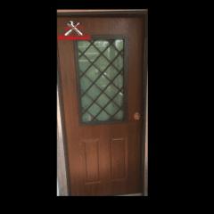 portone blindato finestrato