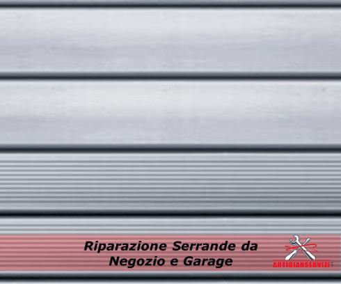 Riparazione serrande da negozio e garage
