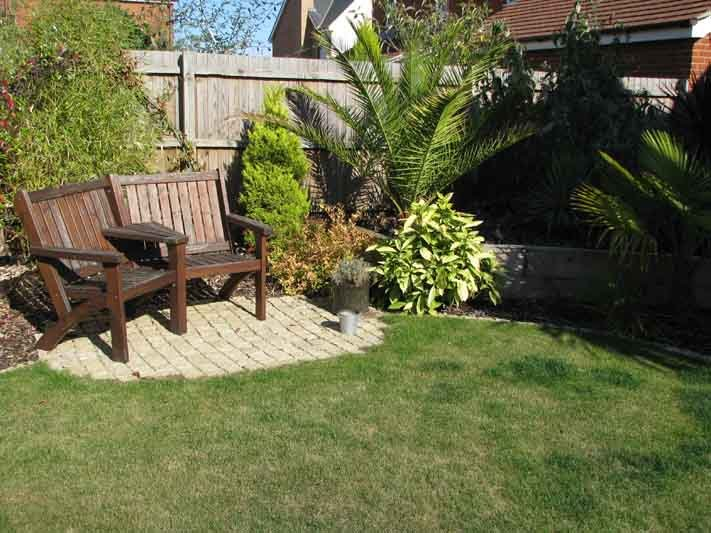 Landscaping Work Done Using Plants From Local Nursery