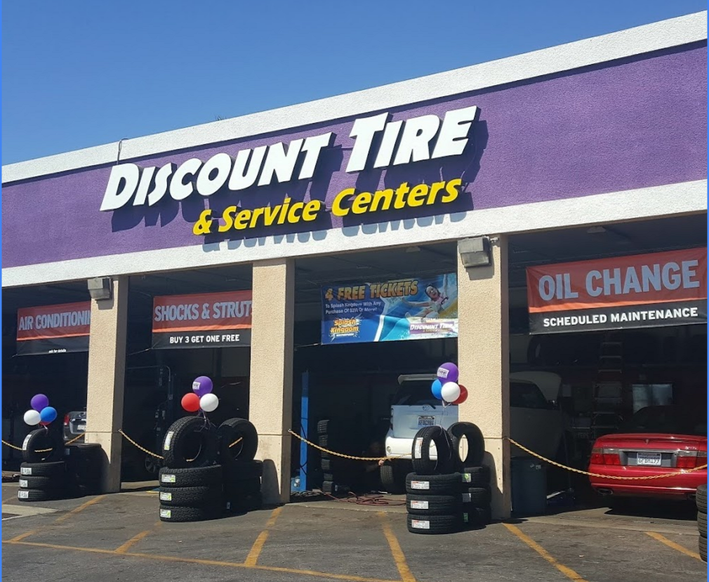 Discount Tire Oil Change >> Discount Tire Centers Tire Specials Complete Car Care