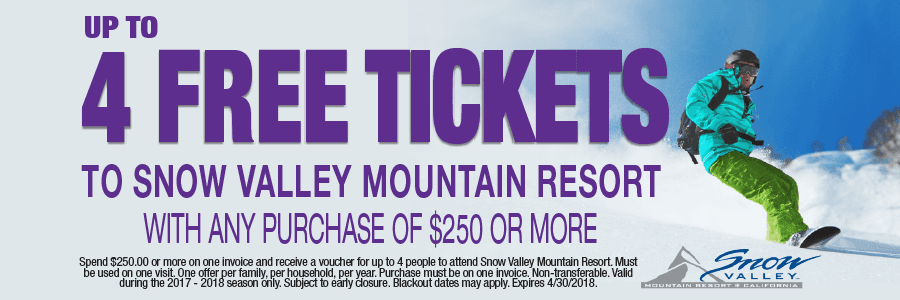 Snow Valley Mountain Resort Promotion | Discount Tire Centers